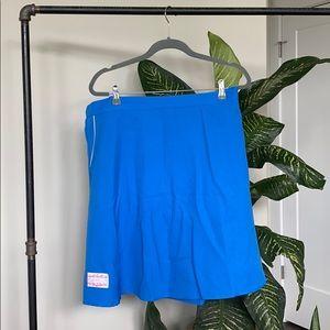Tuesday Bassen Blue Skirt w/ Side Zip
